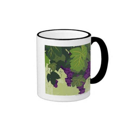Grapes on the Vine Coffee Mugs