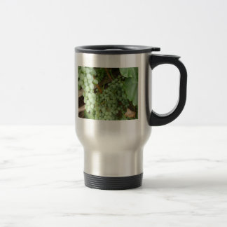 Grapes on the Vine Stainless Steel Travel Mug