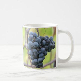 Grapes on the vine, w/ scripture verse; James 3:18 Basic White Mug