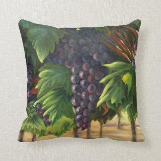 Grapes Pillow with Original Artwork