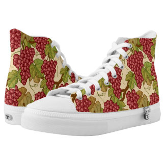 Grapes Printed Shoes