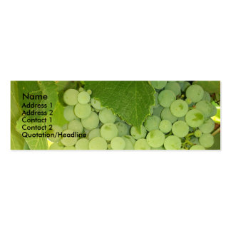 Grapes Profile Card Business Card