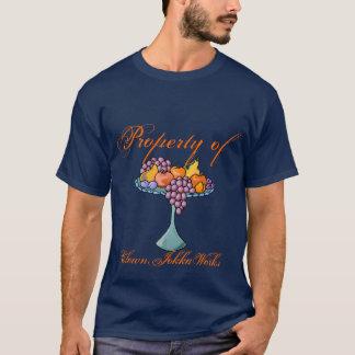 grapes, Property of, ClownJokkaWorks T-Shirt