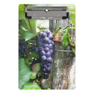 grapes vineyard mini clipboard