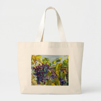 Grapevines Large Tote Bag