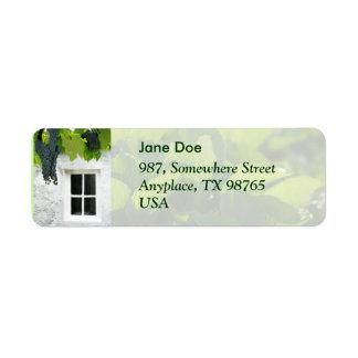 Grapevines Return Address Label