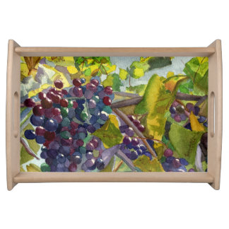 Grapevines Serving Tray
