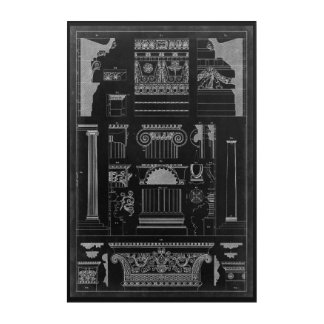 Graphic Architecture IV Acrylic Wall Art