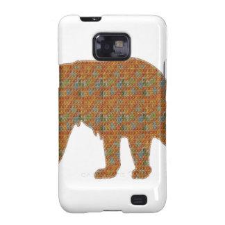 Graphic Art on Zoo  Bear WildAnimal Pet Samsung Galaxy SII Cases