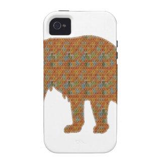 Graphic Art on Zoo  Bear WildAnimal Pet iPhone 4/4S Cover