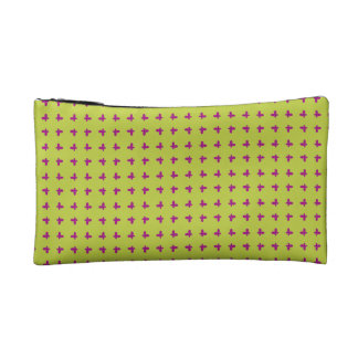 Graphic Butterflies | Lime Cosmetic Bag