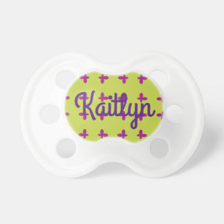 Graphic Butterflies | Lime Pacifiers