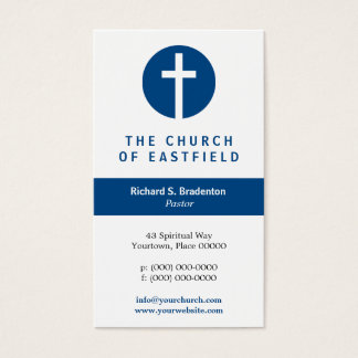 Graphic Cross Business Card