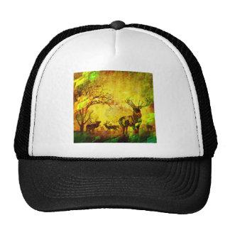 graphic deers cap