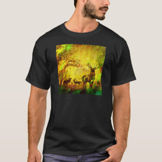 graphic deers T-Shirt
