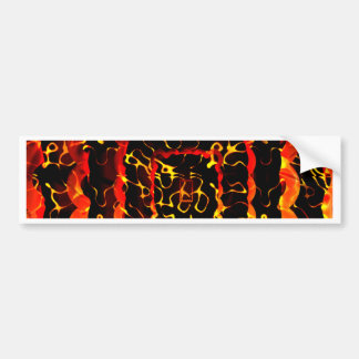 graphic design car bumper sticker