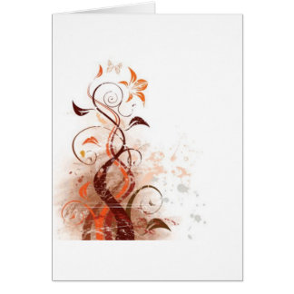 Graphic Design Floral Greeting Cards
