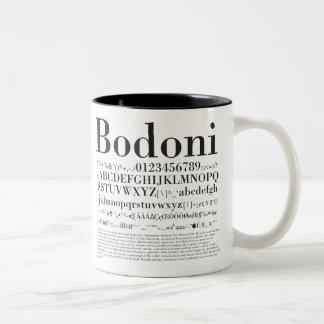Graphic Design_Fonts_02 Two-Tone Coffee Mug