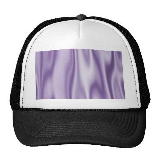 Graphic design of Lavender Satin Fabric Hat
