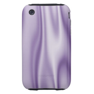 Graphic design of Lavender Satin Fabric iPhone 3 Tough Case