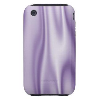 Graphic design of Lavender Satin Fabric iPhone 3 Tough Case