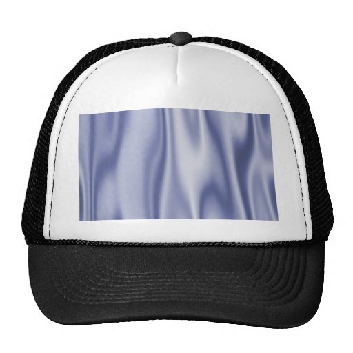 Graphic design of Light Blue Satin Fabric Trucker Hat