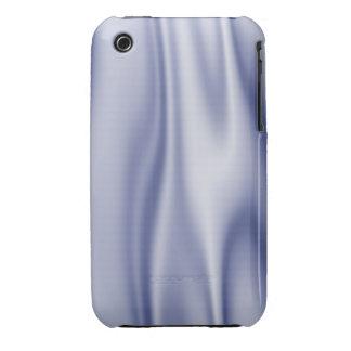 Graphic design of Light Blue Satin Fabric iPhone 3 Case