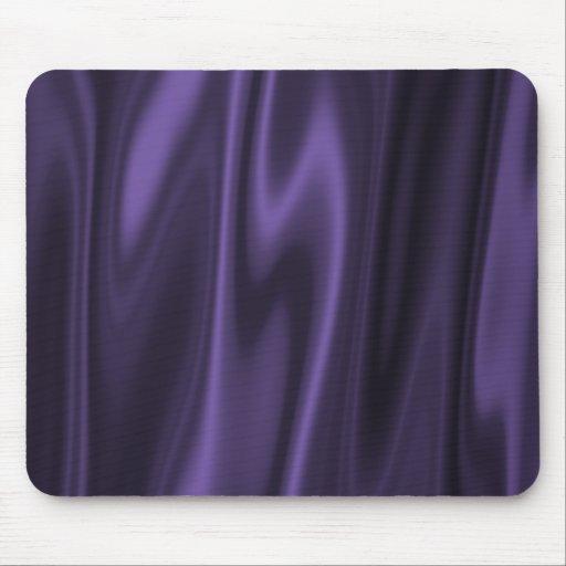 Graphic design of Purple Satin Fabric Mousepad