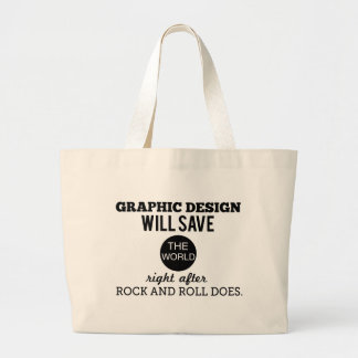 Graphic Design will Save the World Mug Bag
