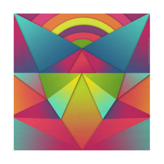 graphic design wood canvases