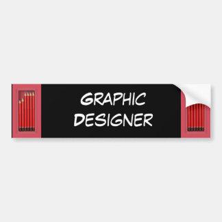 Graphic Designer Bumper Stickers