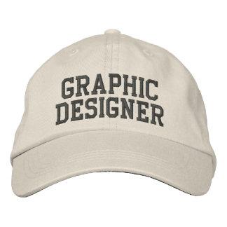 Graphic Designer Embroidered Hat