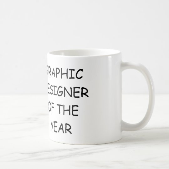Graphic Designer of the Year Coffee Mug