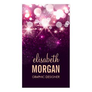Graphic Designer - Pink Glitter Sparkles Pack Of Standard Business Cards