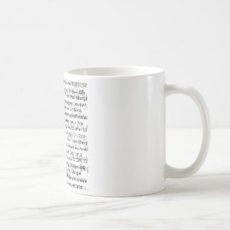 Graphic designers dream basic white mug