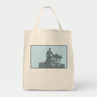 Graphic Dublin Grocery Tote Bag