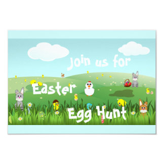 graphic Easter landscape Card