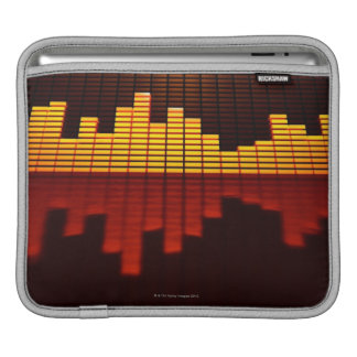 Graphic Equalizer Display iPad Sleeve