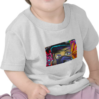 Graphic Face Painting T-shirts