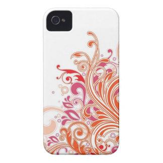 Graphic floral design Case-Mate iPhone 4 cases