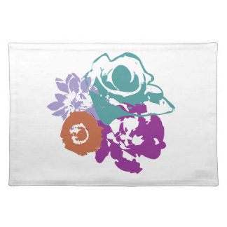 Graphic Flowers American Mojo Placemats