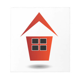 Graphic for real estate notepads