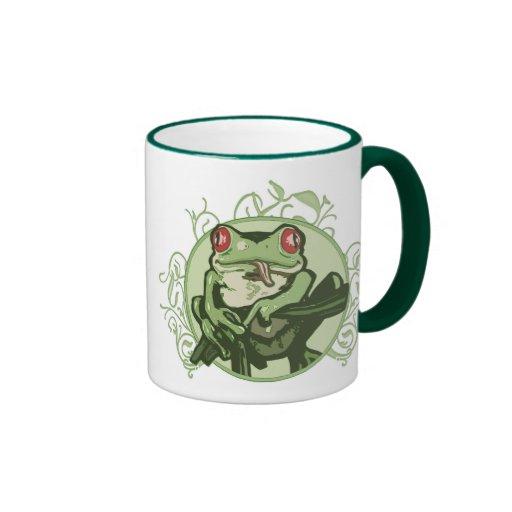 Graphic Frog by Mudge Studios Coffee Mugs