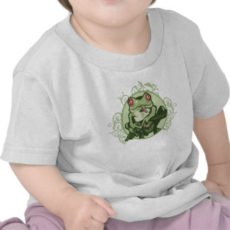 Graphic Frog by Mudge Studios Tee Shirts