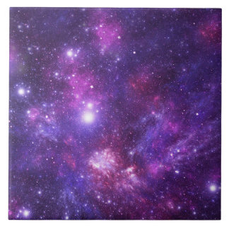 Graphic Galaxy Ceramic Tile