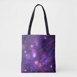 Graphic Galaxy Tote Shopper Bag
