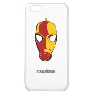 Graphic Gas Mask 02 iPhone 5C Cases
