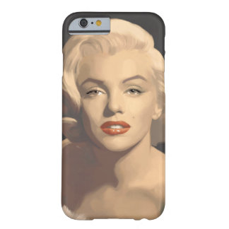Graphic Gray Marilyn Barely There iPhone 6 Case