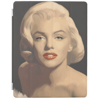 Graphic Gray Marilyn iPad Cover