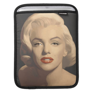 Graphic Gray Marilyn iPad Sleeve